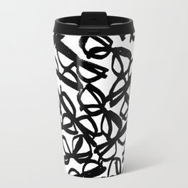 Black Eyeglasses Travel Mug