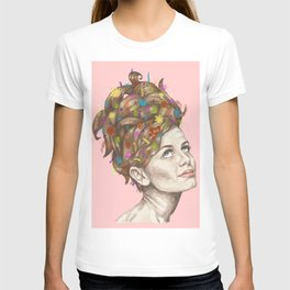 Hair Garden // twiggy with the cool hair T-shirt