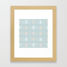 Bees? Framed Art Print
