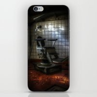 dentist iPhone & iPod Skins featuring Dentist horror by Cozmic Photos