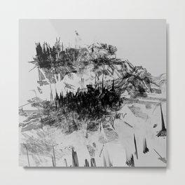 Alyeska in Monochrome no. 7 Metal Print