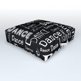 Just Dance! Outdoor Floor Cushion