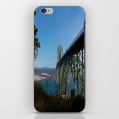 Cross Over Into Paradise iPhone & iPod Skin