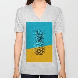 Pineapple Retro Unisex V-Neck