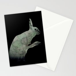 green lapin Stationery Cards