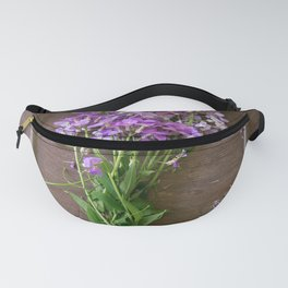 Wildflowers for dinner Fanny Pack