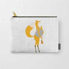 Fox motherand and her baby Carry-All Pouch