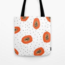 Papaya Tote Bag