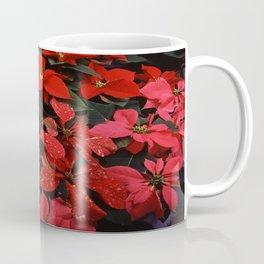 Poinsettia Christmas Holiday Flowers Coffee Mug