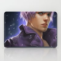 dragonball iPad Cases featuring Trunks by KlsteeleArt