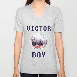 VICTOR BOY Unisex V-Neck