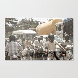 Bangalore Traffic Jam Canvas Print
