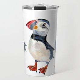 puffins Travel Mug