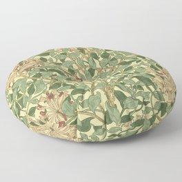 William Morris Honeysuckle Floor Pillow