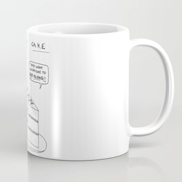 Peace-o-Cake Coffee Mug
