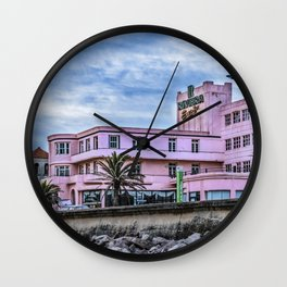 Old Style Waterfront Hotel, Montevideo, Uruguay Wall Clock