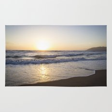 A Southern California Spring Sunset Rug