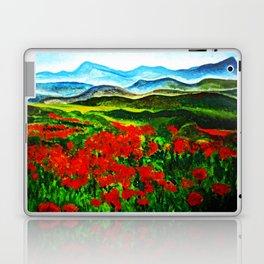 poppy field 2 Laptop & iPad Skin
