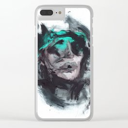 Stokes Croft Clear iPhone Case