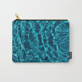 Blue Grass Aqua Roots Carry-All Pouch