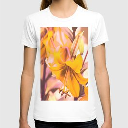 Yellow Lilies In The Garden #decor #society6 #buyart T-shirt