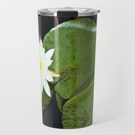 A Single Water Lily Travel Mug
