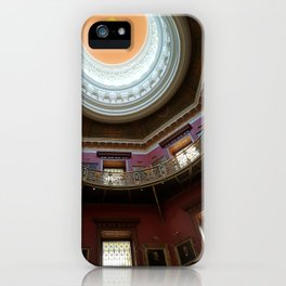New Jersey's Capital Dome - Interior iPhone Case