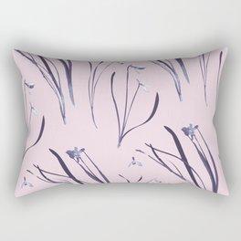 GALANTHUS IN CLASSIC ROSE Rectangular Pillow