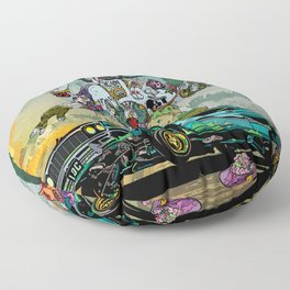 B-Side Low Ride Floor Pillow
