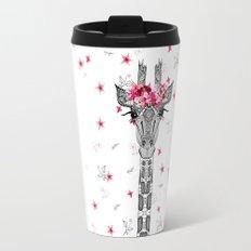 FLOWER GIRL GIRAFFE Travel Mug