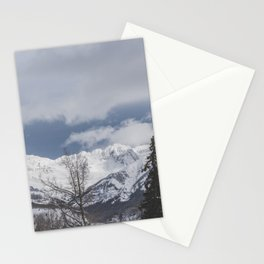 Winter Mountainscape Stationery Cards
