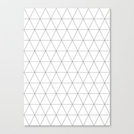 Basic Isometrics I Canvas Print