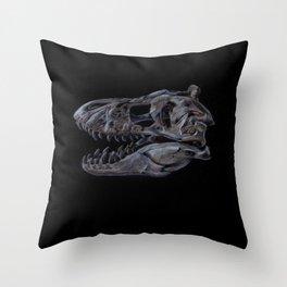 Tyrannosaurus Rex Skull Study Throw Pillow
