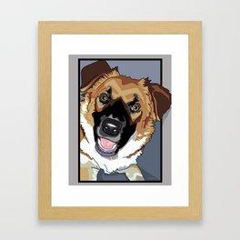 Trina Dog Framed Art Print