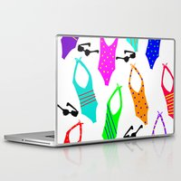 suits Laptop & iPad Skins featuring Bathing Suits by Whatcha-McCall-it