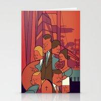 vertigo Stationery Cards featuring Vertigo by Ale Giorgini
