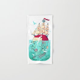 Ship Head Hand & Bath Towel