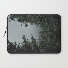 Backwoods Winter: Ponderosa Pines, Washington Laptop Sleeve