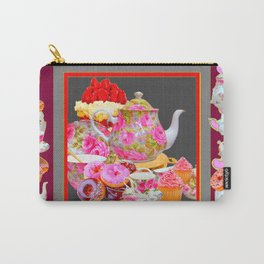 AFTERNOON TEA PARTY  & PASTRY  DESSERTS Carry-All Pouch