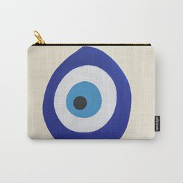 Blue Evil Eye Carry-All Pouch