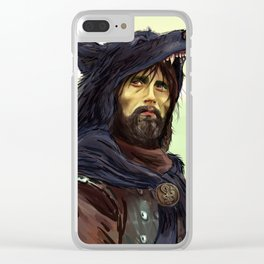 Hannibal - Ladyhawke AU Clear iPhone Case