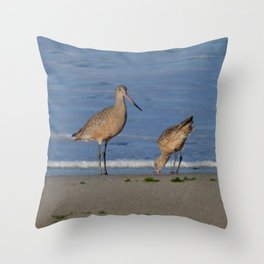 why the beak Throw Pillow
