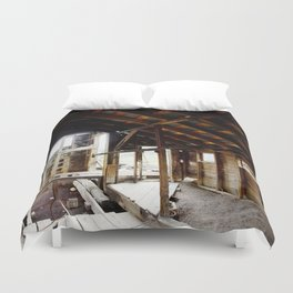 Exploring the Longfellow Mine of the Gold Rush - A Series,No. 5 of 9 Duvet Cover