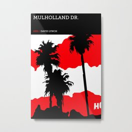 David Lynch Tribute Series :: Mulholland Drive Metal Print