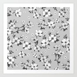 Lovable Flowers 11 Art Print