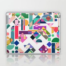 Geometry 2 colorful Laptop & iPad Skin