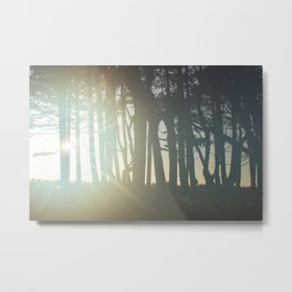 Sunrise Wishes Metal Print