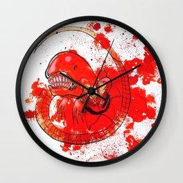 Alien chestbursting Wall Clock