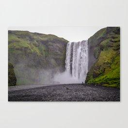Skogafoss, Iceland Canvas Print