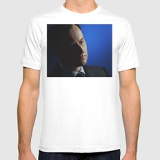 Big Brother White MEDIUM Mens Fitted Tee